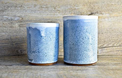 Handmade ceramic utensil holders by Miller's Pottery Australia