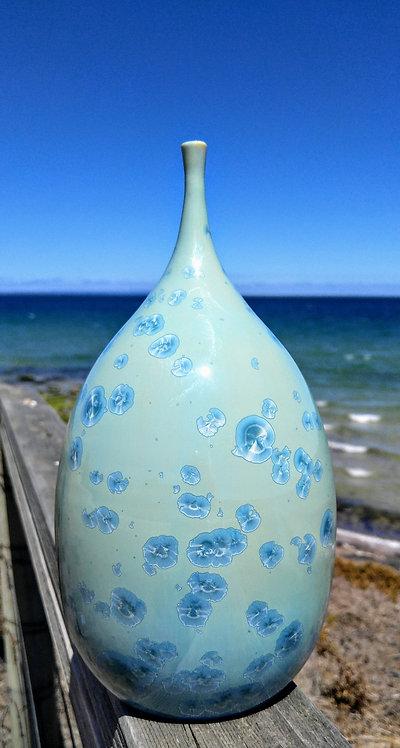 crystalline glaze by Miller's Pottery Australia