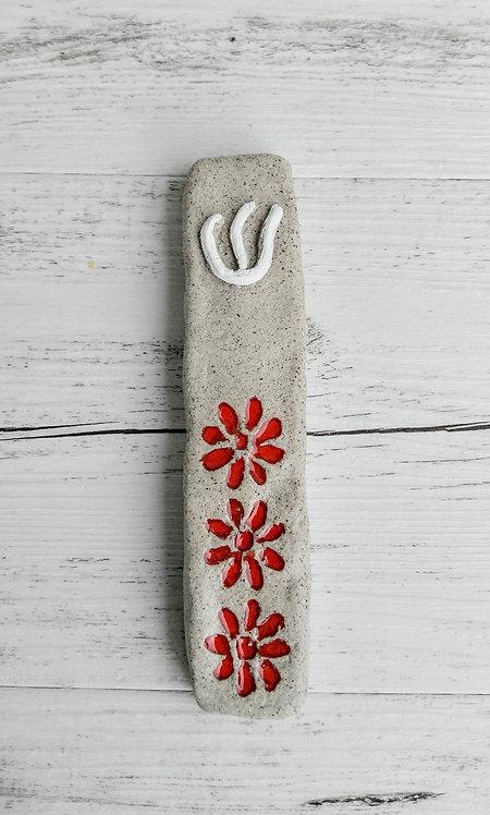 handmade ceramic Mezuzah by Miller's Pottery Australia
