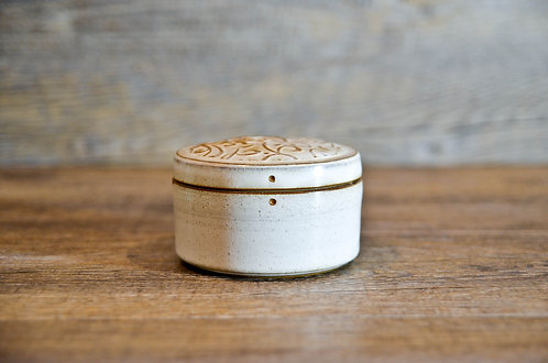 Handmade ceramic jewllery / accessoried box by Miller's Pottery Australia
