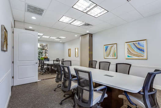 20 person capable combined conference room
