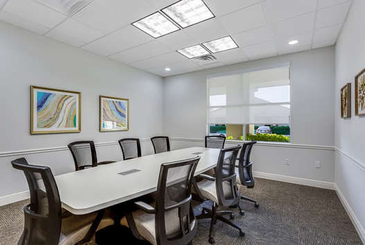8 Person Conference Room Naples Court Reporting