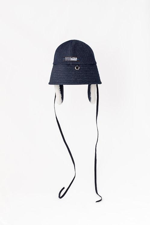 <Q millnery x the STOLEN GARMENT> bucket hat