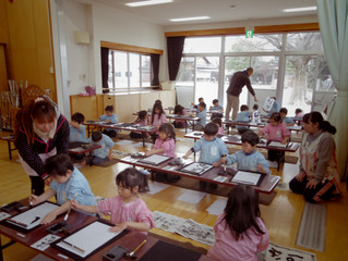 書道教室♪