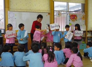 英語教室(きく組)♪