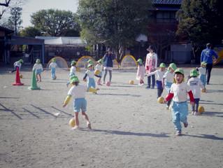 サッカー教室♪