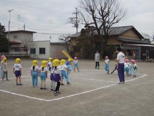 体操教室(ドッヂボール)♪