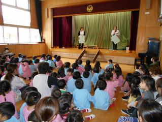 10月誕生会と木工教室♪