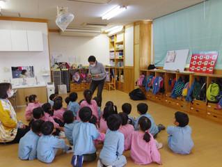ちゅうりっぷ組 英語教室♪