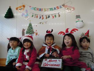 クリスマスとお誕生者♪