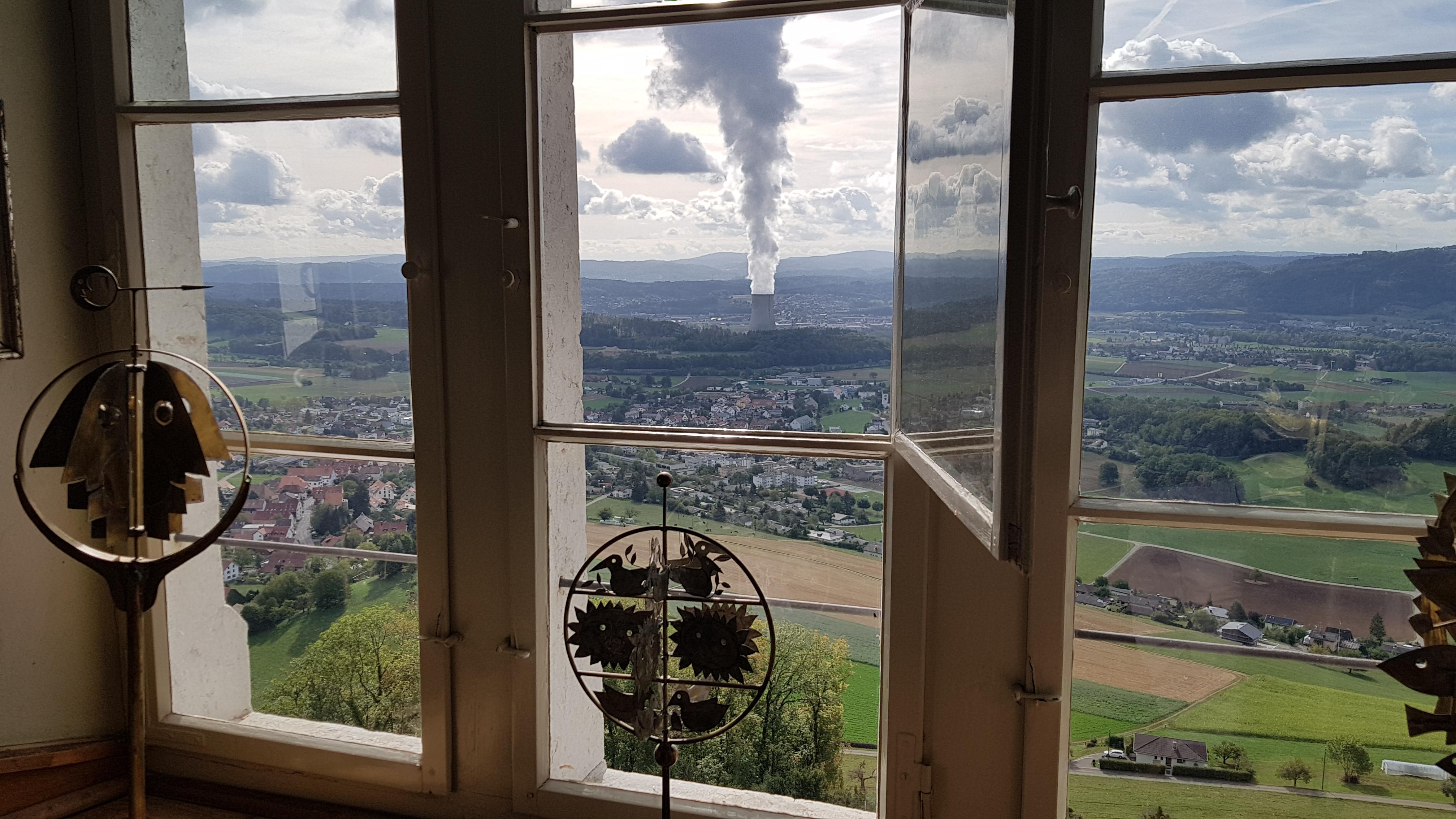 Blick vom Schloss Wartenfels