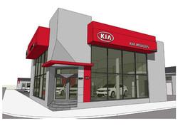 Amenajare showroom KIA
