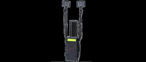 Torre de iluminação 2 módulos