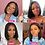 Thumbnail: 4x4 Lace Closure Wig Short Bob Straight Human Hair Wigs 150 Density Brazilian