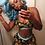 Thumbnail: Ethika 2020 Beach Style 3-Colors 2-Pieces Set Sexy Women Slim Sleeveless Print T