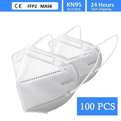 100PCS FFP2 Face Mask KN95 Facial Masks Filtration Maske Dust Mask Mouth Mask