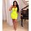 Thumbnail: Top Quality Celebrity Light Green Pink Slip Rayon Bandage Dress Night Club