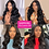 Thumbnail: 5x5 Lace Closure Wig 4x4 Closure Wig Body Wave Lace Front Wig 150% 30inch Lace