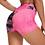 Thumbnail: Printed Shorts Women Sexy Push Up Fitness Short Legging High Waist Gym Trunks