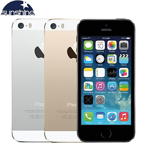 "Apple iPhone 5S Original Cell Phones Dual Core 4"" IPS Used Phone 8MP 1080P"