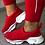 Thumbnail: Women Shoes 2020 Autumn Sneakers Rivet Casual Shoe Cover Feet Flat Leopard