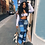 Thumbnail: 2020 Color Block High Waist Flare Jeans With Pockets 2019 Streetwear Sexy Ladies