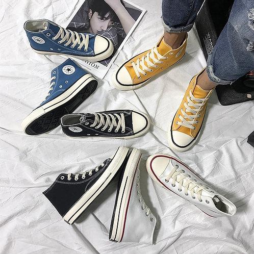 Women's Fashion 2020 Vulcanize Shoes Woman Sneakers New Rainbow Retro Canvas