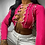 Thumbnail: Simenual Patchwork Lace Up Long Sleeve Crop Tops Women Ribbed Sexy Party Knitwea