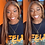Thumbnail: #4/27 Ombre Lace Front Human Hair Wigs for Women Highlight Transparent Lace Wigs