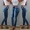 Thumbnail: High Waist Jeans for Women Slim Stretch Denim Jean Bodycon Skinny Push Up