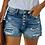 Thumbnail: 2020 Summer Women Denim Shorts Ripped Short Pants With Pockets High Waist Jean