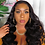 Thumbnail: Body Wave Wig Human Hair Headband Wig Scarf Wig Natural Color Brazilian Remy