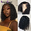 Thumbnail: 13x4 Curly Bob Wig Lace Front Human Hair Wigs With Baby Hair Brazilian Remy