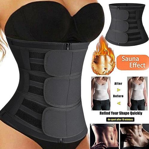 Women Waist Trainer Belt Waist Trimmer Slimming Belly Band Neoprene Body Shaper
