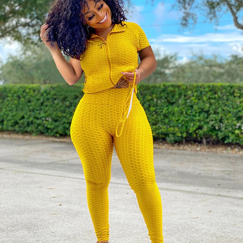 2021 Spring Summer Casual Tracksuit Two Piece Set for Women Clothes Short Sleeve