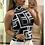 Thumbnail: Trendy Tank Top Women Female Plus Size Geometric Print Halter Vest Tops Sexy