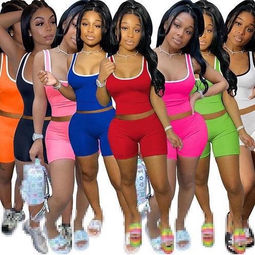 2 Piece Sets Womens Outfits Two Piece Set Women Shorts Set Shorts Sets Wholesale