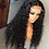 Thumbnail: Deep Wave Closure Wig Human Hair Lace Frontal Wigs 180 Lace Front Wig Pre Plucke