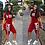 Thumbnail: Fanco  Casual Pink Letter Print Women Two Piece Set New Summer Rompers Sexy Stri