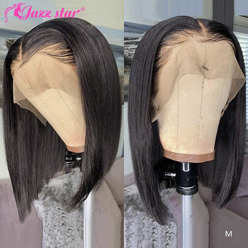 Brazilian Wig Straight Short Bob Lace Front Wigs 13x4 Lace Front Human Hair Wigs