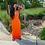Thumbnail: ANJAMANOR Sexy Hollow Out Backless Maxi Dress Womens Clothes Sleeveless Long Sum