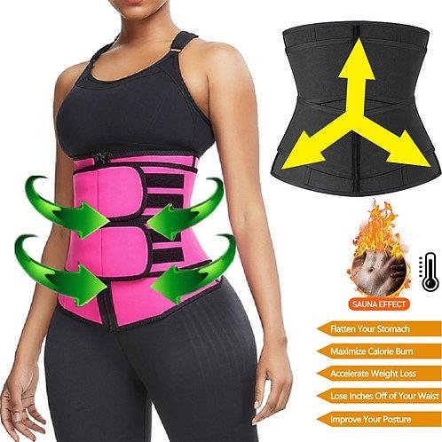 Shaperwear Waist Trainer Neoprene Sauna Belt for Women Weight Loss Cincher Body
