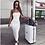 Thumbnail: Hugcitar 2020 Bodycon Sexy Tube Maxi Dress Summer Women Fashion Streetwear