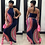 Thumbnail: New Fashion Women Halter Dress Sleeveless Female Party Dress Ladies Printing