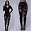Thumbnail: Ripped Jeans Women's High-Waisted Jeans Retro Bell-Bottomed Jeans Ripped Skin