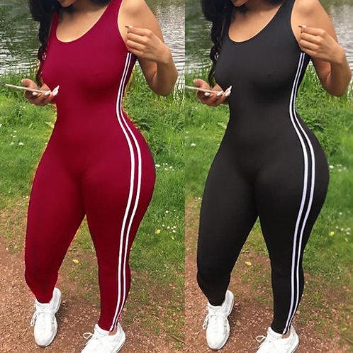Women's Sport Yoga Gym Athletic Rompers Suit Fitness Workout Jumpsuit Bodysuits