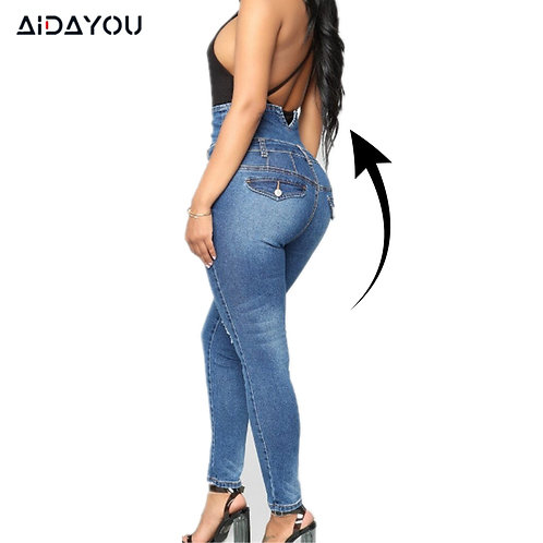 Women High Waisted Jeans Butt Lifting Jeans for Women Colombian Jeans Push Up