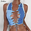 Thumbnail: Nibber Sexy Bandage Cut Out Hole Crop Tops Women Camisole 2020 Summer Chic Punk