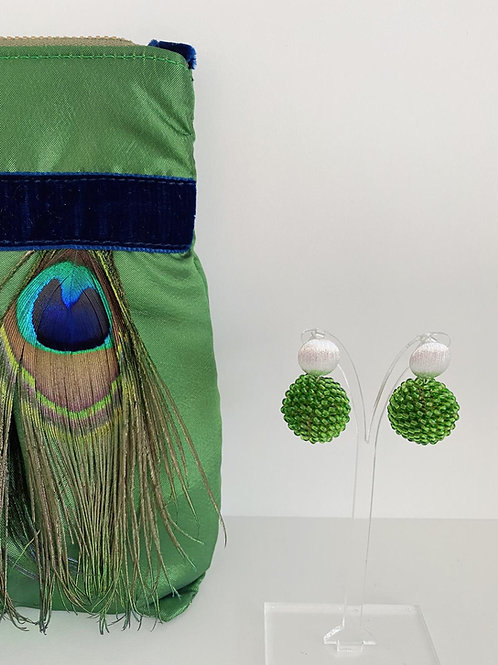Beerenkugeln, grasgrün