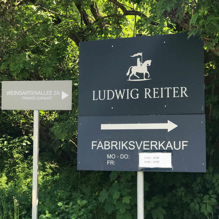 Ludwig Reiter, Süssenbrunn & Ohrangerie